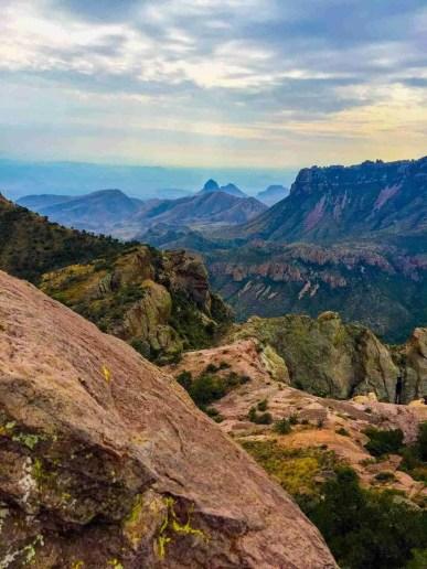 Chisos Mountains Vistas Big Bend Lost Mine Trail