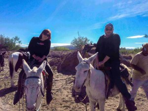 riding donkeys to boquillas