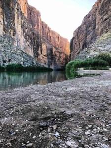 Santa Elena Canyon Trail entrance