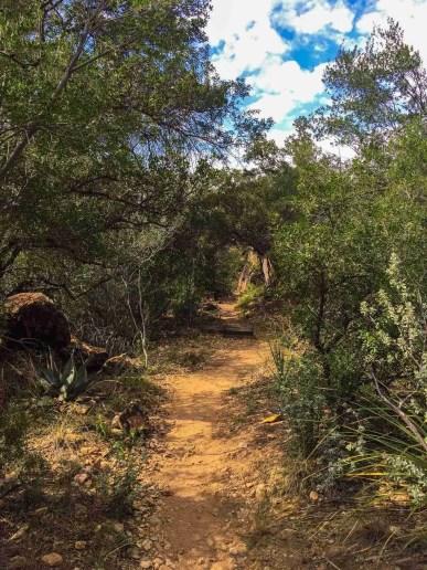 cattail falls trail