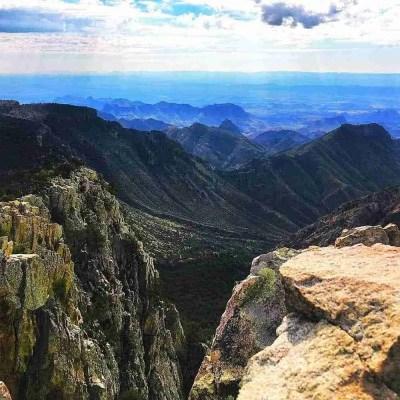 Emory Peak Vista in Big Bend