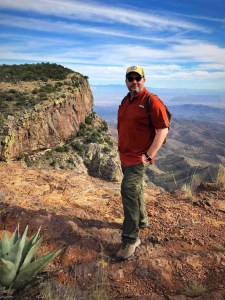 adam brower Views from the South Rim Trail in Big Bend National Park