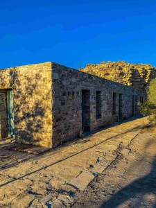 the motor court at Hot Springs District at Big Bend National Park