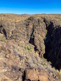 Cinco Tinaja Trail in Big Bend Ranch State Park
