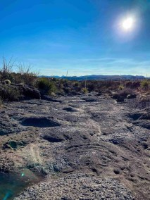 Fresno West Rim Overlook Trail in Big Bend Ranch State Park
