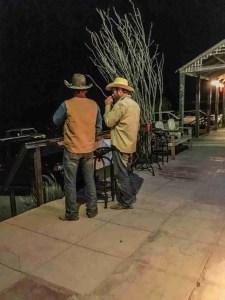 cowboys on the terlingua porch
