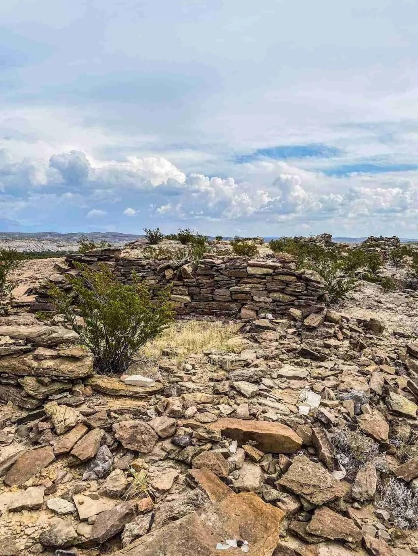 ruins in big bend off river road east