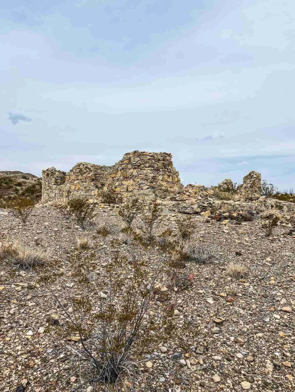 ruins of terlinga abajo in big bend