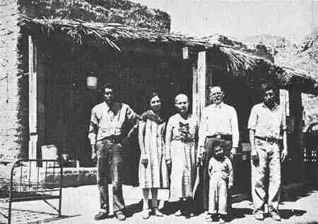 Chatas restaurant in boquillas texas around 1930