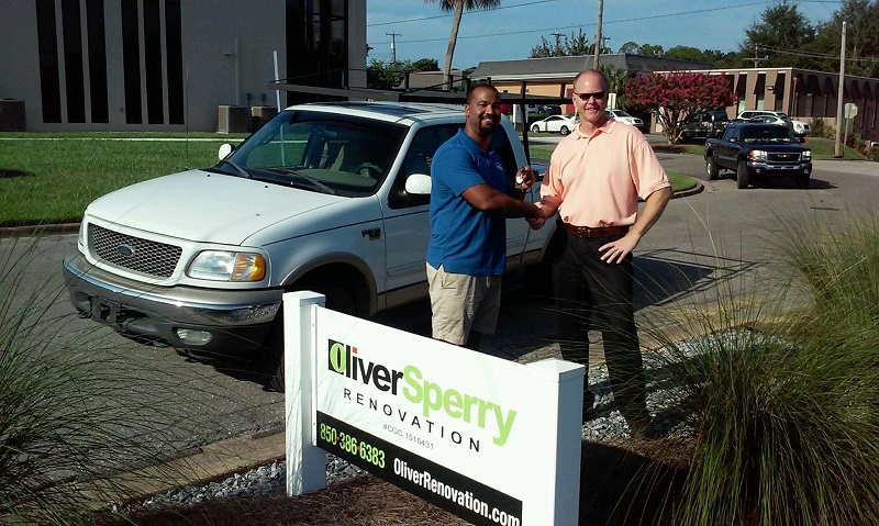 THANK YOU to Bill Oliver and Oliver-Sperry Construction
