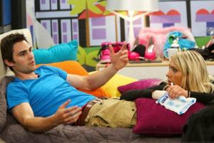 Big Brother 2013 Spoilers - GinaMarie Zimmerman and Nick Uhas