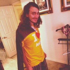 Big Brother 2013 Spoilers - McCrae t-shirt