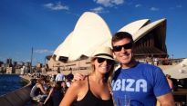 Big Brother Spoilers - Jeff and Jorda at Sydney Opera House