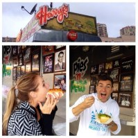Big Brother Spoilers - Jeff and Jordan at Harry's Famous Meat Pies