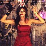 Kaitlin Barnaby on Halloween