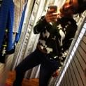 Big Brother 2013 Spoilers - Amanda Zuckerman models Army Zip Back Sweater