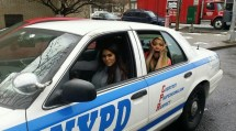 Big Brother 2014 Spoilers - Amanda Zuckerman and GinaMarie Zimmermanin cop car
