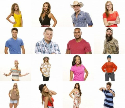 Big Brother 2014 Spoilers - Season 16 Cast