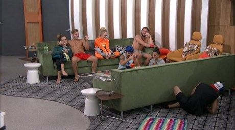 Big Brother 2016-Paul Abrahamian, Nicole Franzel, Paulie Calafiore, Victor Arroyo, Natalie Negrotti, James Huiling, Corey Brooks, Michelle Meyer
