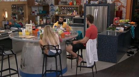 Big Brother 18-Corey Brooks, Nicole Franzel, Paul Abrahamian
