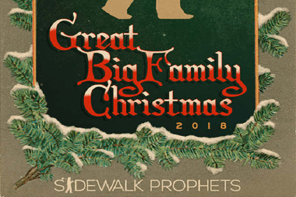 """Sidewalk Prophets launch their """"The Great Big Family Christmas Tour."""""""