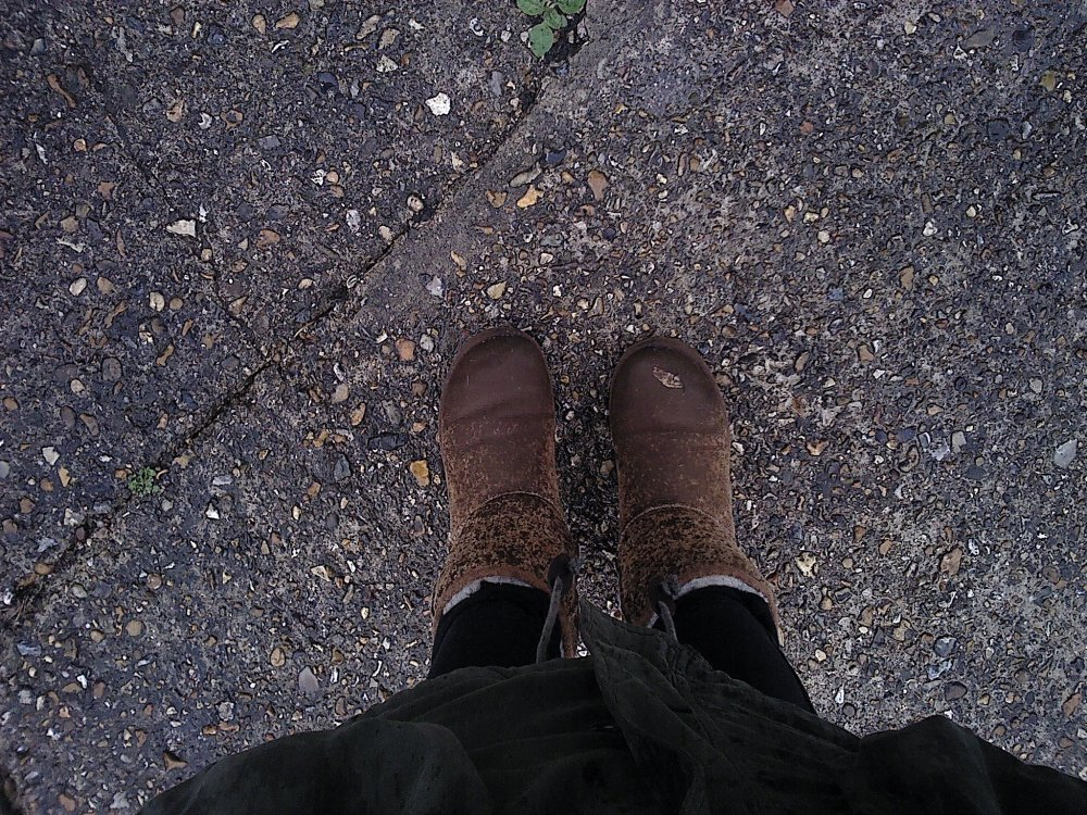 Is there anybody out there...? + Soggy Uggs