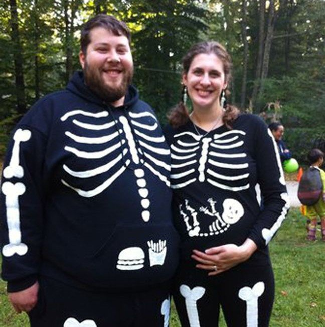 10 Quick & Easy Plus-Size Pregnant Halloween Outfits