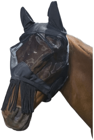 Tough 1 Deluxe Comfort Mesh Fly Mask - Horse Size