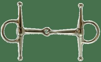 Coronet Jointed Full Cheek Snaffle Bit 5-1/2 Inch