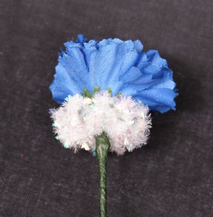 Blue/White Flower