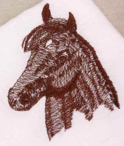 Morgan Head Horse Design
