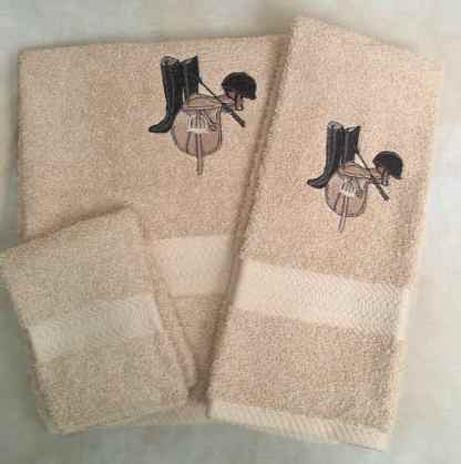 English Tack Towel Set