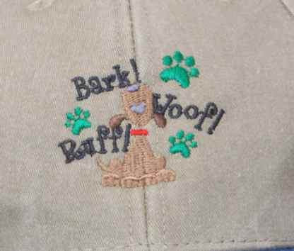 Dog and Paw Prints Design