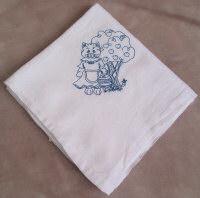 Cat Flour Sack Dish Towel