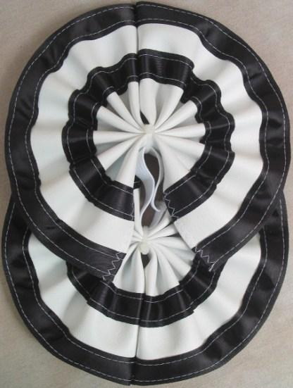 Tail Bow Black & White