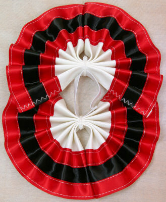 Tail Bow Red & Black