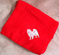 Cats and Dogs Embroidered Throws