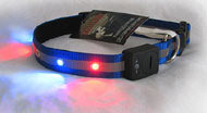 Flashing Dog Collar - Small & Medium