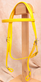 Horse Size Beta Headstall - Yellow