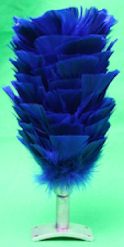 Blue Bridle Plume