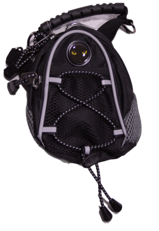 Cat Eyes Black Mini Day Pack - Cat Design