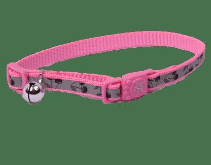 Pink Cherries Cat Collar