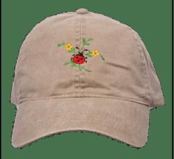 Ladybug design cap