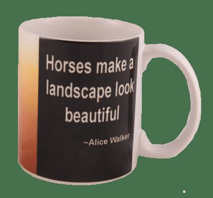 Horse in the Mist Mug
