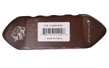 Tail Tamer Great Groove Wood Brush