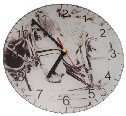 Percheron Clock