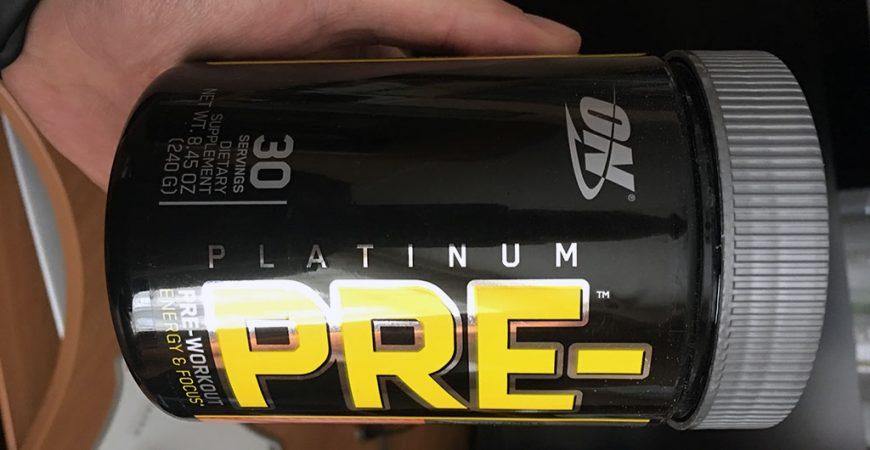 Обзор и впечатления от предтренировочного комплекса Optimum Nutrition Platinum Pre-Workout