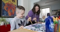 She is also a role model and mentor for other young people with ADHD, like Thomas Connolly.