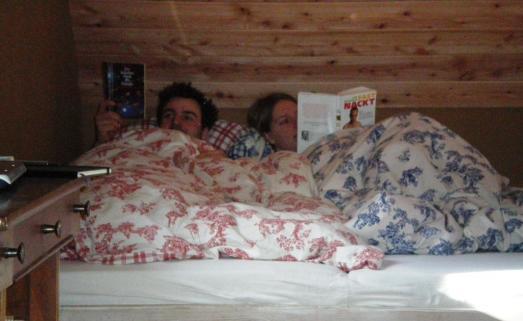 Im Bett ist es nett