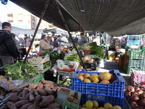Mächtig viel Obst und Gemüse